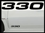 BMW 330 CAR BODY DECALS